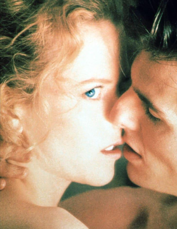 Nicole Kidman and Tom Cruise star in Stanley Kubrick's 'Eyes Wide Shut' (1999).