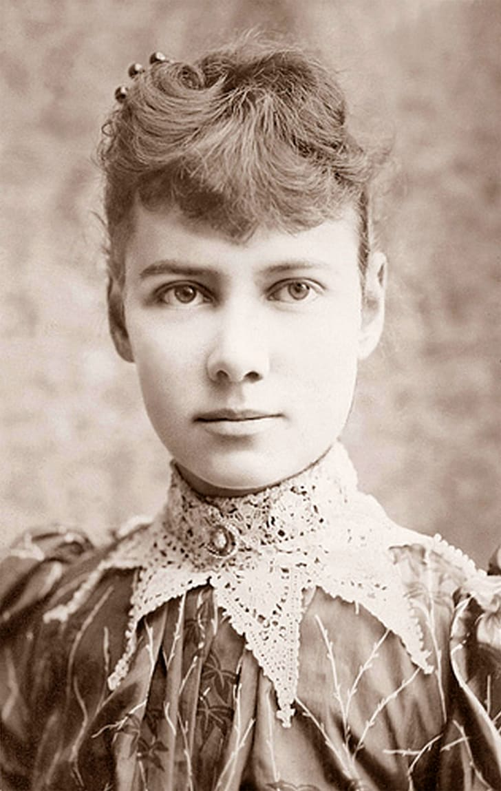Portrait of Nellie Bly