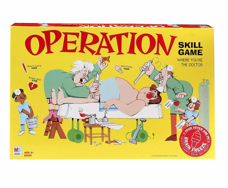 Hasbro's 'Operation' game