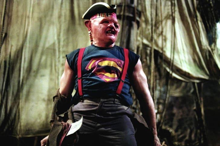 John Matuszak stars as Sloth in The Goonies (1985)