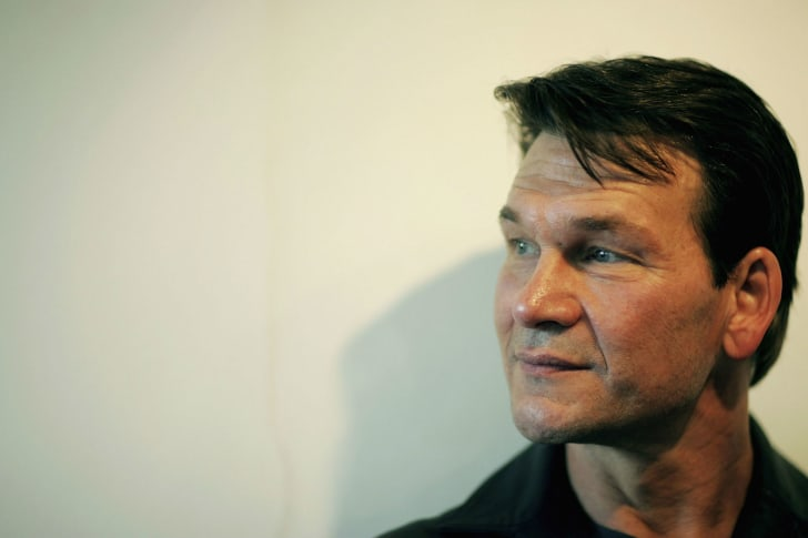 Actor Patrick Swayze is pictured in London, England in June 2006
