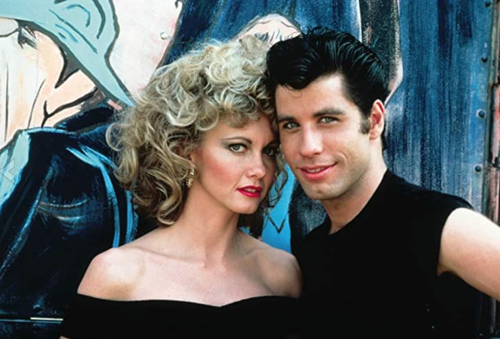Olivia Newton-John and John Travolta in 'Grease' (1978)