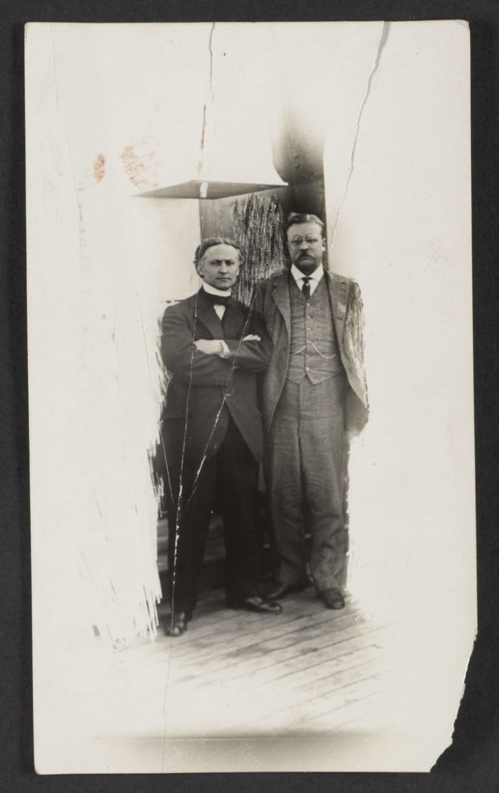 harry houdini and theodore roosevelt aboard the ss imperator