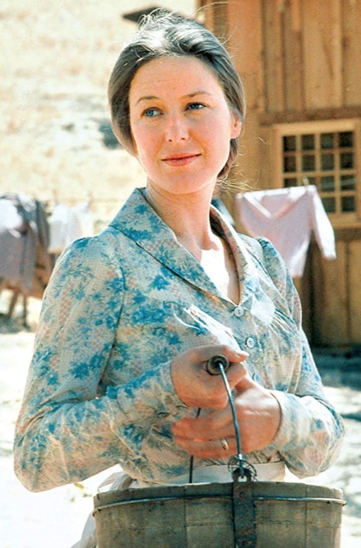 Karen Grassle in Little House on the Prairie