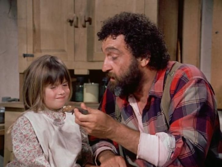 Victor French in Little House on the Prairie