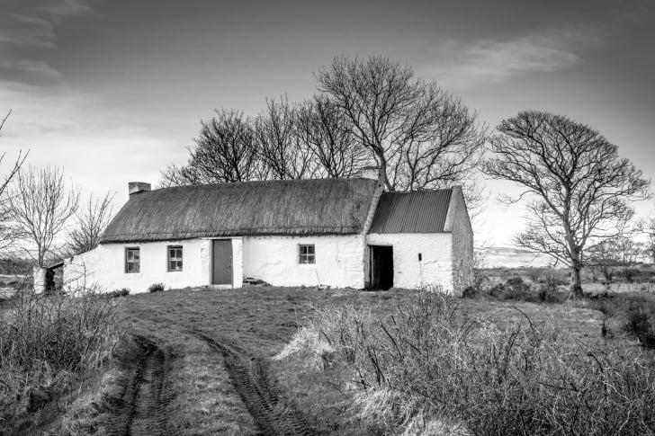 Rural cottage.