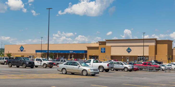 A Sam's Club in North Carolina