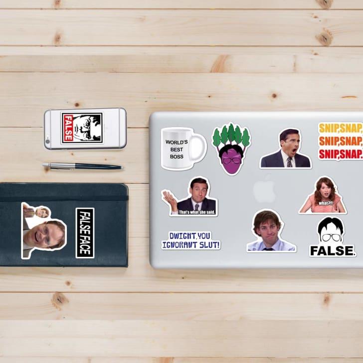 The Office sticker set