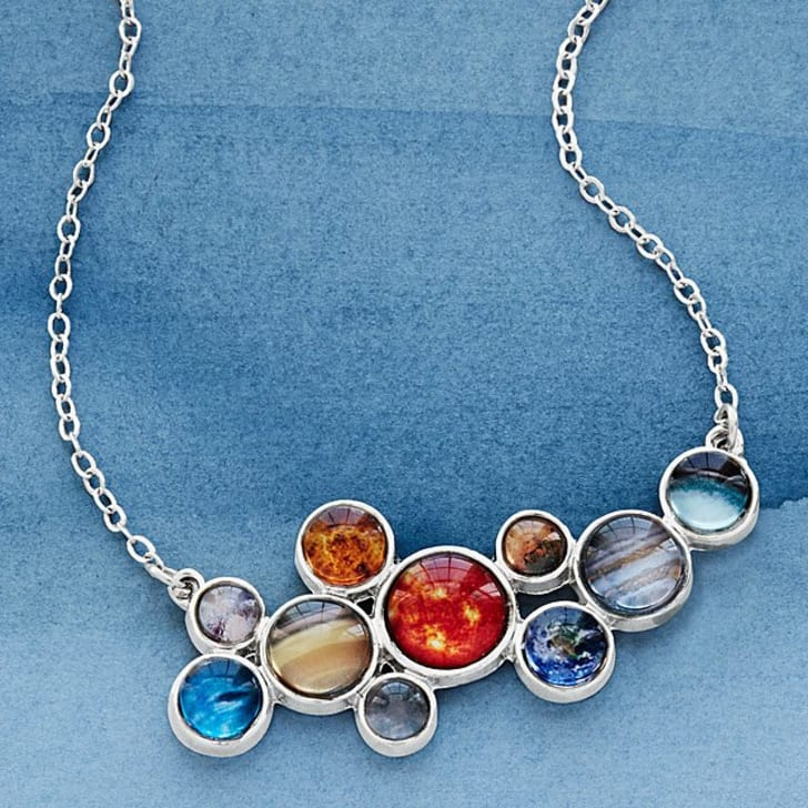 Solar System necklace.