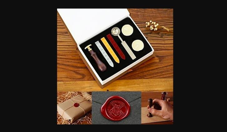 harry potter seal wax kit
