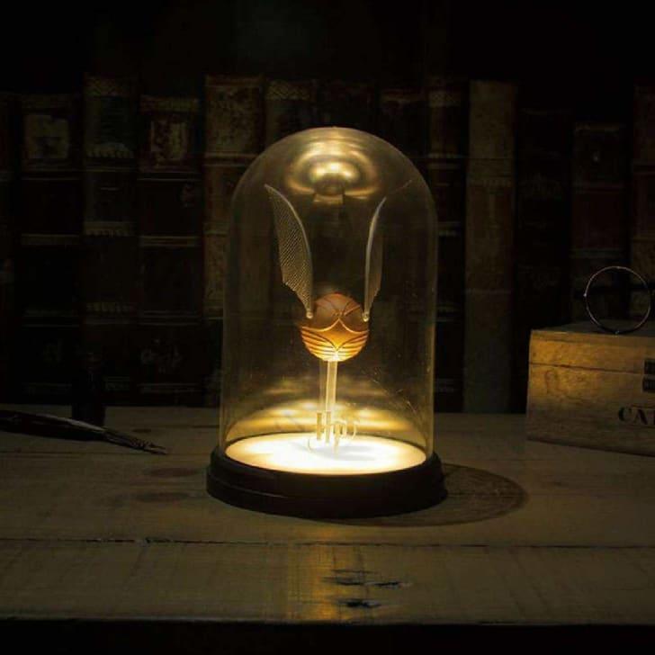 golden snitch lamp