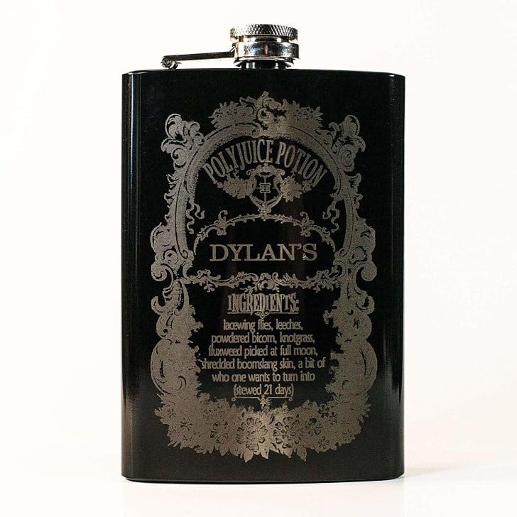 harry potter polyjuice potion hip flask