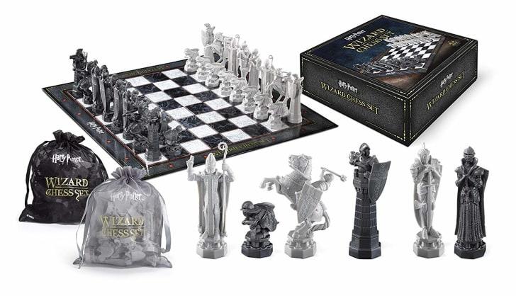 harry potter wizard's chess set