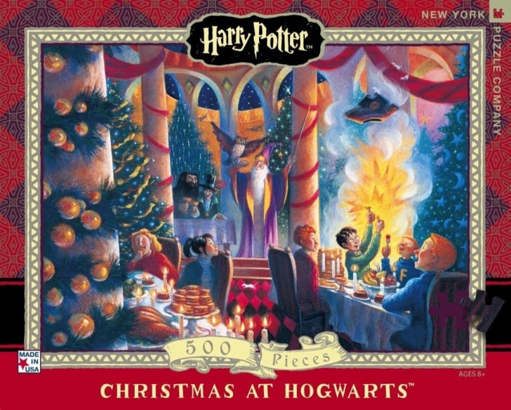 harry potter christmas puzzle