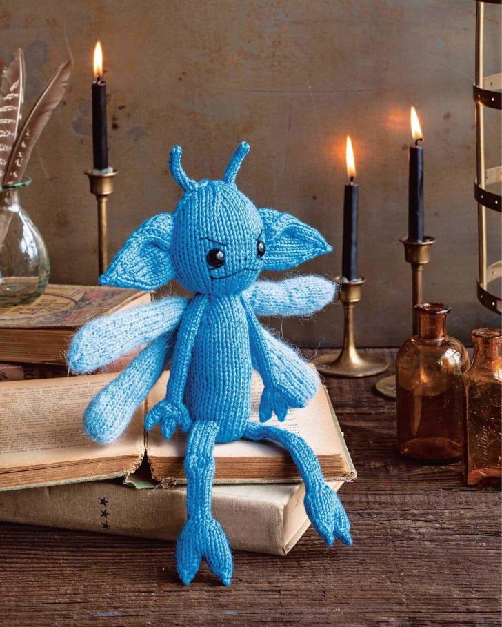 Knit Cornish pixie.
