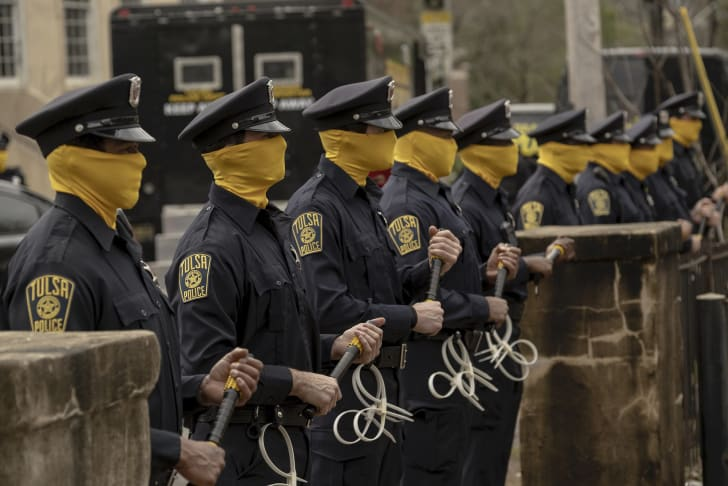 A still from HBO's 'Watchmen'