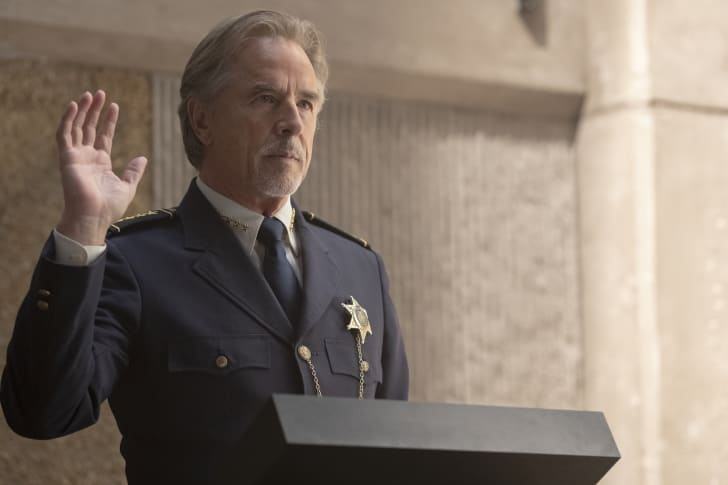 Don Johnson as Judd Crawford in HBO's 'Watchmen'