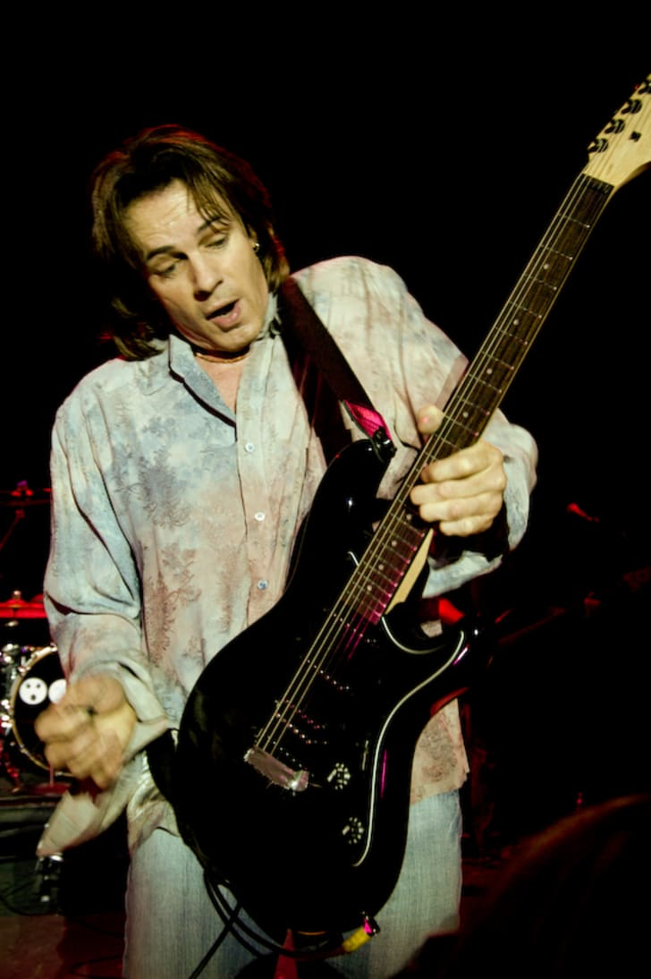 Rick Springfield performs during the Shock/Denial/Anger/Acceptance Tour in 2004