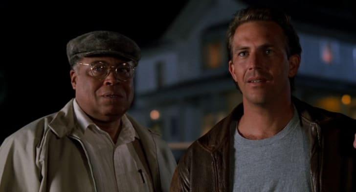 James Earl Jones and Kevin Costner in 'Field of Dreams' (1989)