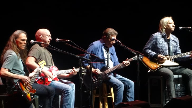 "The Eagles in concert, ""History of the Eagles"" tour, Grand Rapids, September 2014. Doolin-Dalton"