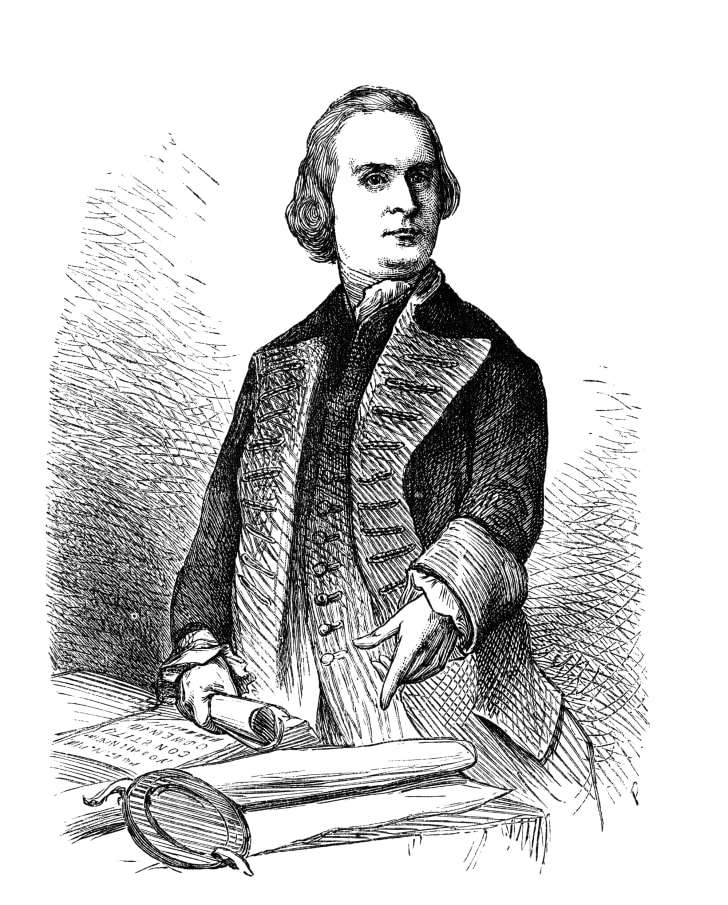 An illustration of Sam Adams