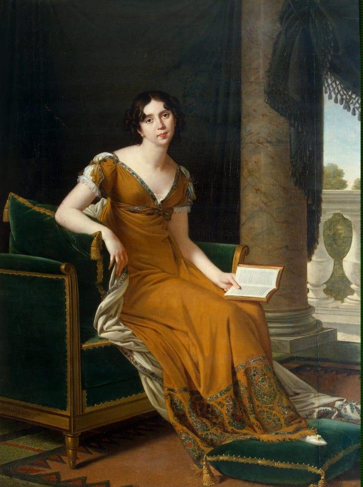 A portrait of Elisabeth Demidoff, born Stroganoff