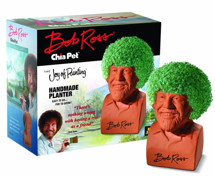 Chia Pet Bob Ross.