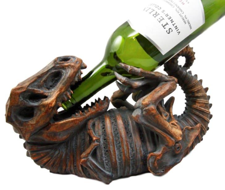 T. Rex Wine Holder.
