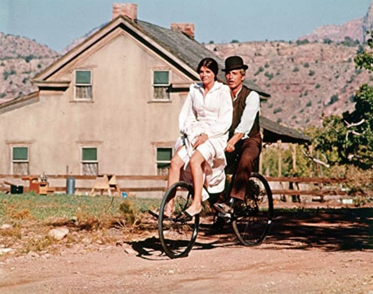 Katharine Ross and Paul Newman in 'Butch Cassidy and the Sundance Kid' (2019)