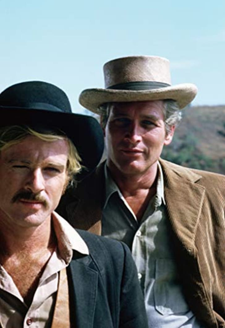 Paul Newman and Robert Redford star in Butch Cassidy and the Sundance Kid
