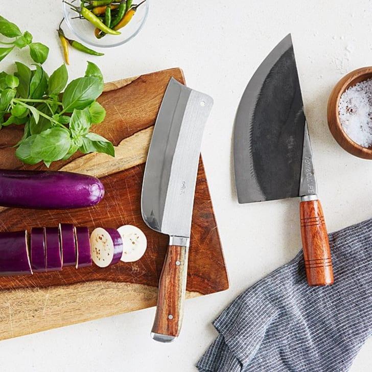 Thai chef's knives.