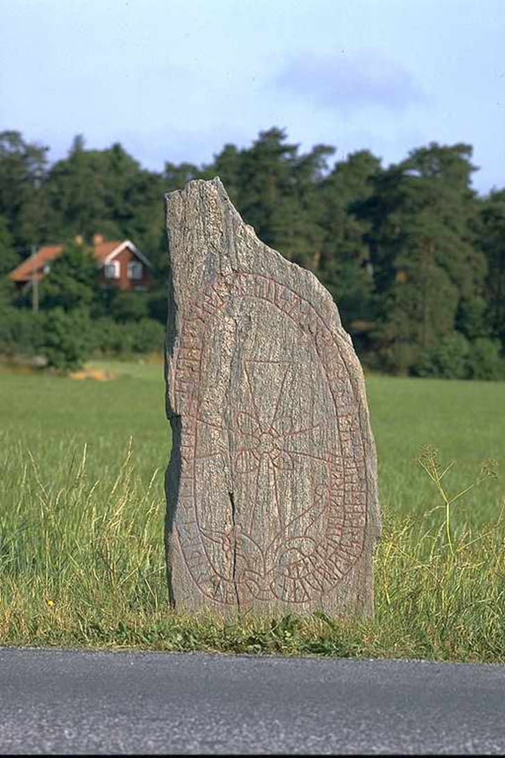 Viking runestone in Sweden
