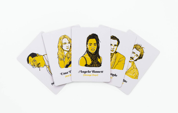 Illustrated Cinephile game cards