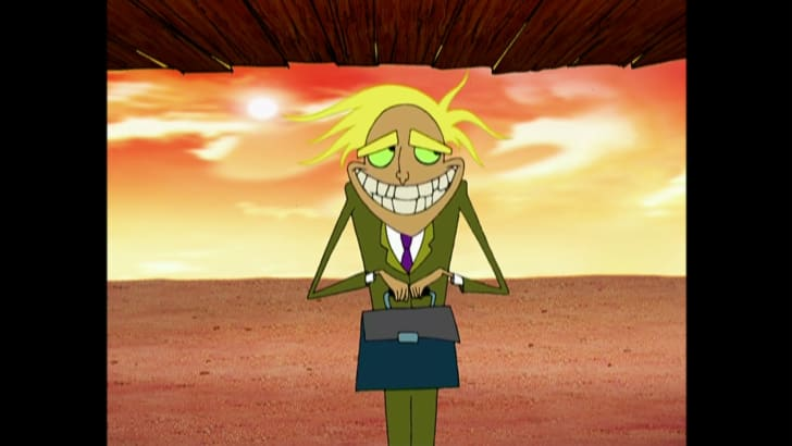freaky fred from courage the cowardly dog