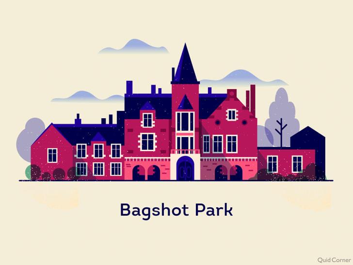 illustration of bagshot park