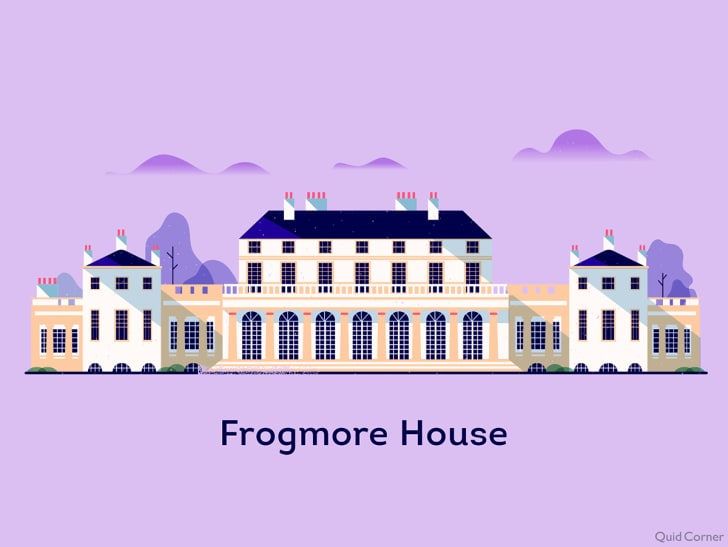 illustration of frogmore house