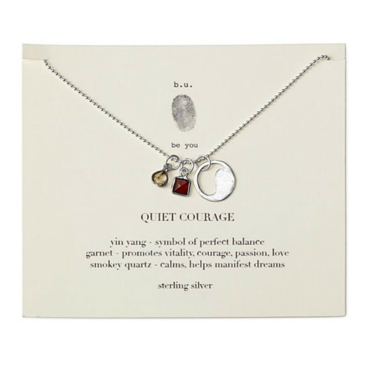 The Quiet Courage Necklace from Uncommon Goods is pictured