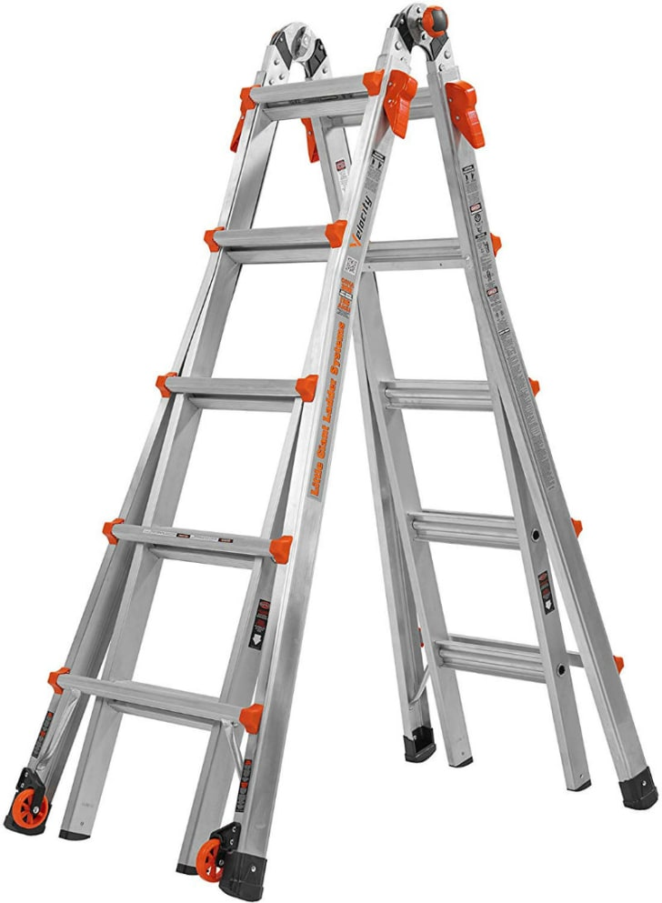 The Little Giant Ladder is pictured