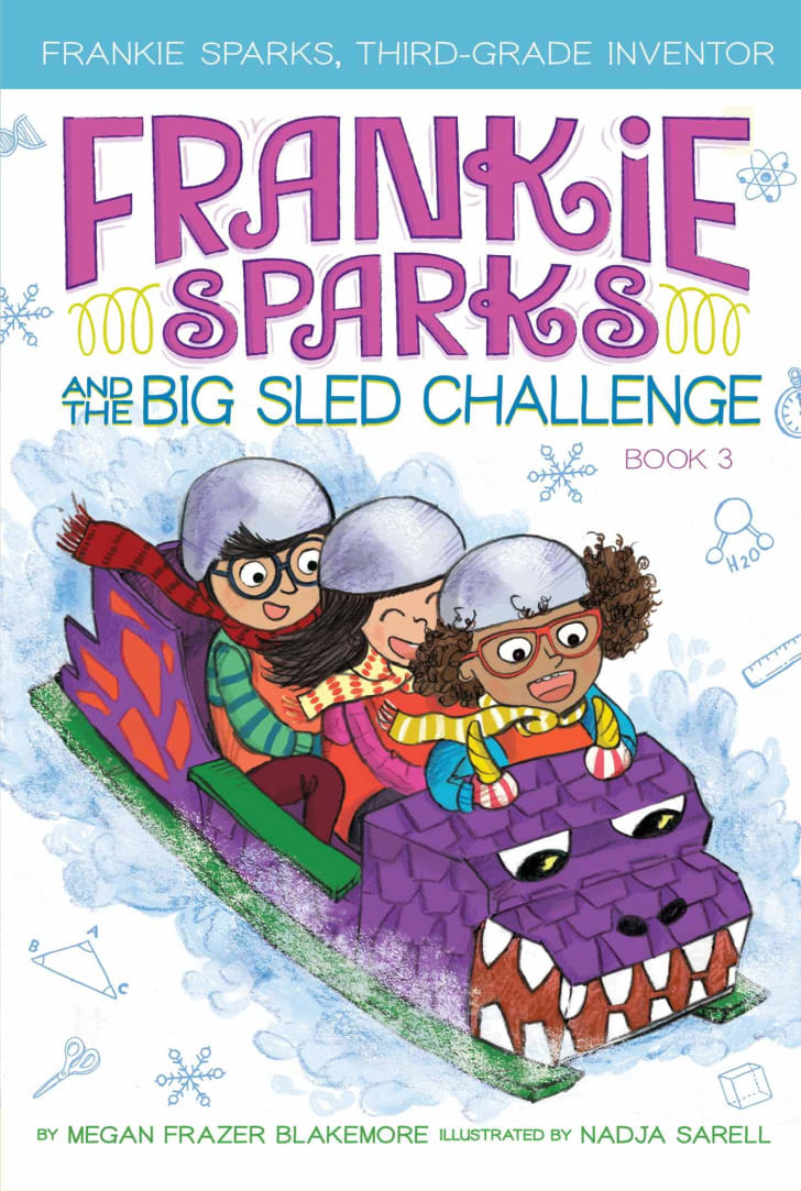 frankie sparks and the big sled challenge