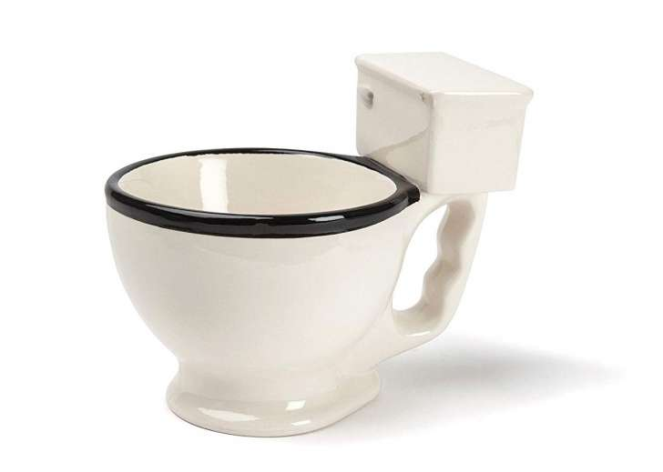 A toilet mug gag gift you can buy on Amazon.
