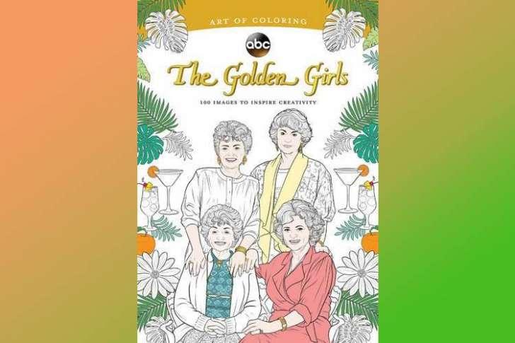 A Golden Girls coloring book gag gift.