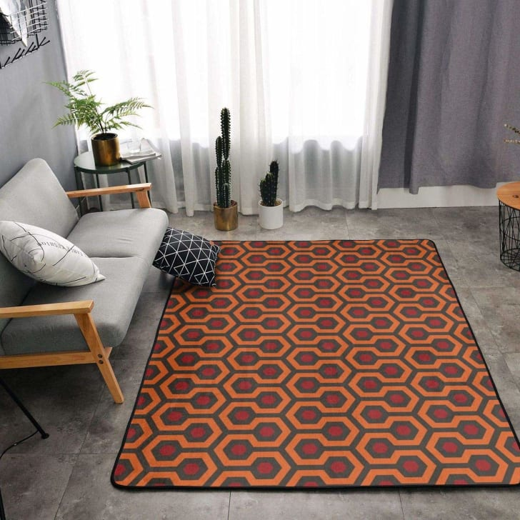 Overlook Hotel throw rug.