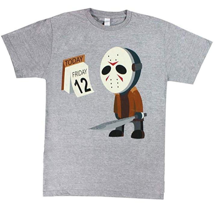 Sad Jason t-shirt.