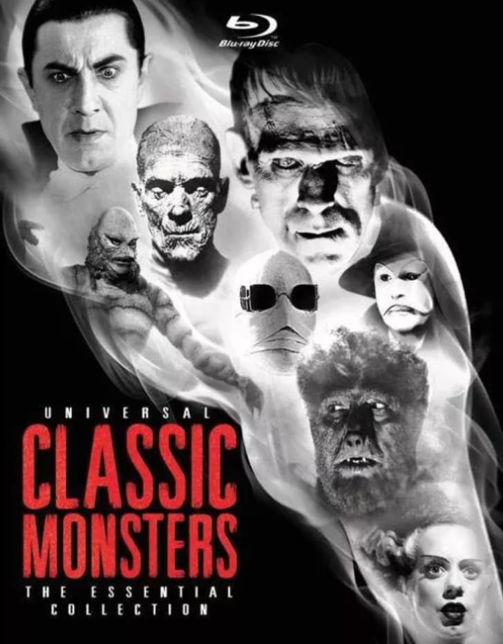 Universal monster movies Blu-Ray set.