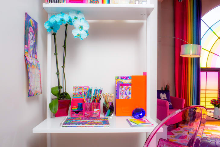 Lisa Frank desk.