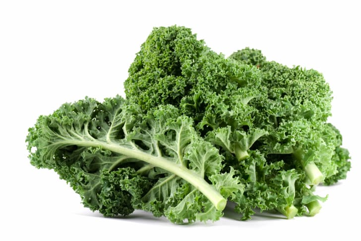 A pile of fresh kale