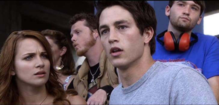 Justin Welborn, Shantel VanSanten and Bobby Campo in The Final Destination (2009)