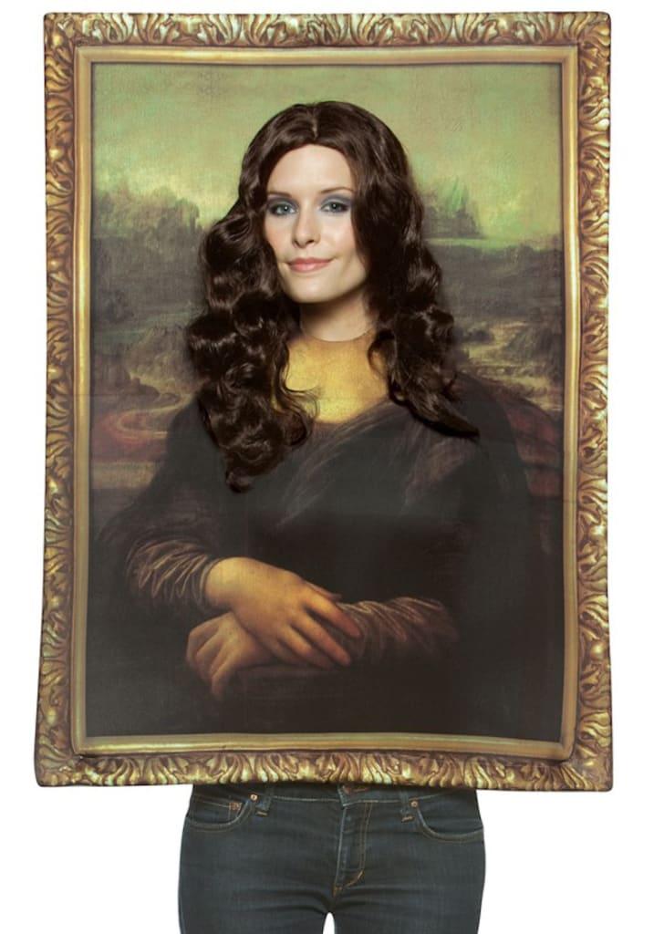A Mona Lisa costume on Amazon.