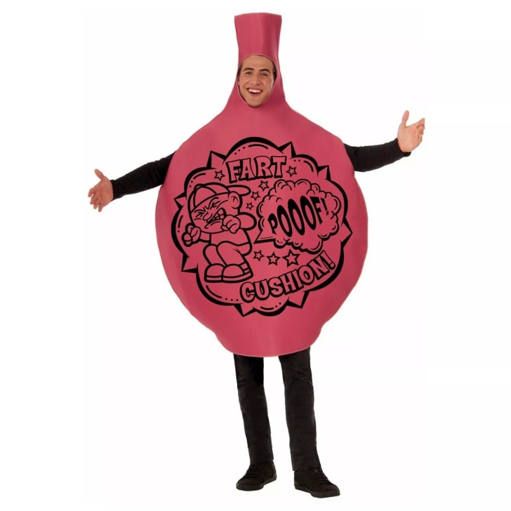 A whoopee cushion costume sold on Amazon.