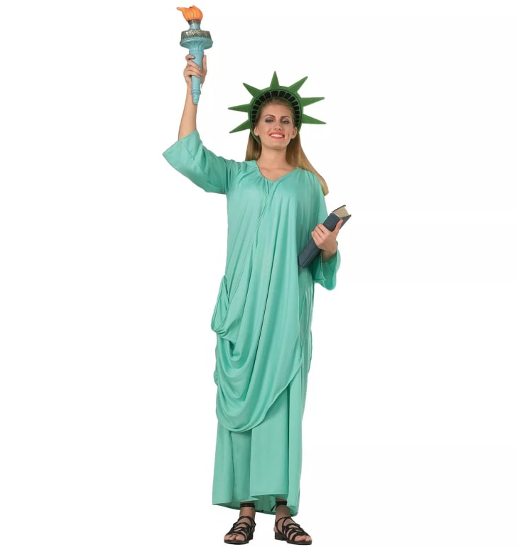 Statue of Liberty Halloween Costume.